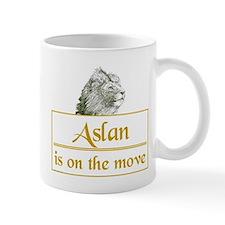Aslan is on the move Mug
