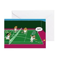 Out! Greeting Card