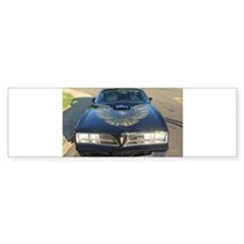 Firebird Trans Am Front Bumper Bumper Sticker