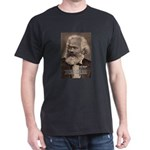 Humor in Politics: Karl Marx Black T-Shirt