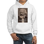 Humor in Politics: Karl Marx Hooded Sweatshirt
