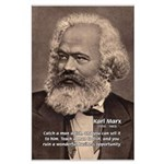 Humor in Politics: Karl Marx Large Poster