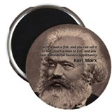 Humor in Politics: Karl Marx 2.25&quot; Magnet (10 pack