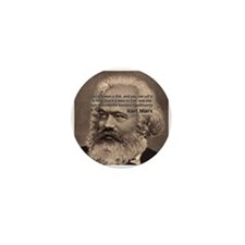 Humor in Politics: Karl Marx Mini Button (100 pack