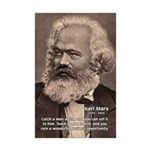 Humor in Politics: Karl Marx Mini Poster Print