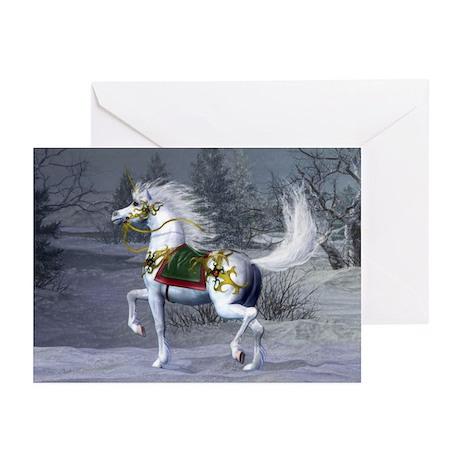 2009 Unicorn Holiday Greeting Cards (Pk of 20)