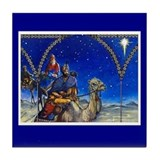 Three Kings Tile Coaster