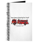 Cute Fire engine Journal