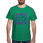 Colorful Papercut Dark T-Shirt