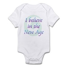 I Believe In New Age Infant Bodysuit