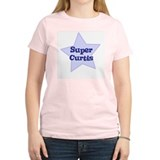 Super Curtis Women's Pink T-Shirt