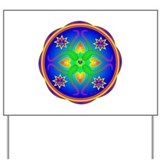 Healing Mandala Yard Sign