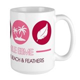 Isle Esme - Love, Beach and F Mug