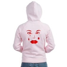 Piercing Eyes Zip Hoody