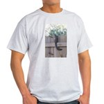 Squirrel on a Fence Light T-Shirt