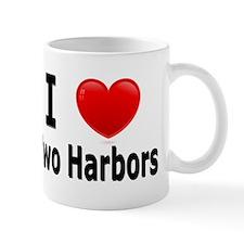 I Love Two Harbors Mug
