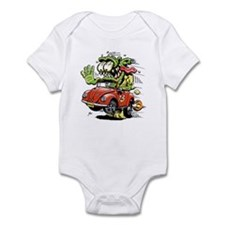 VW Convertible Monster Onesie