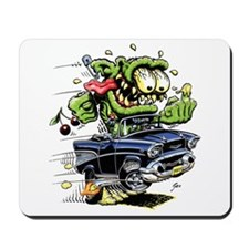 1957 Chevy Belair Monster Car Mousepad