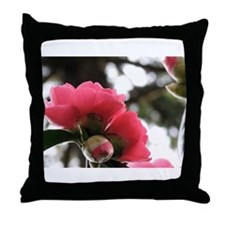 Unique Flower photography Throw Pillow