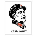 Oba mao Small Poster