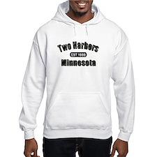 Two Harbors Established 1888 Hoodie