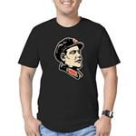 Oba mao Men's Fitted T-Shirt (dark)