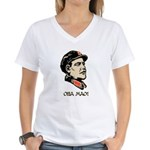 Oba mao Women's V-Neck T-Shirt