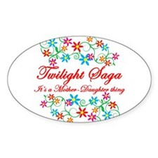 Twilight Mom Daughter Decal