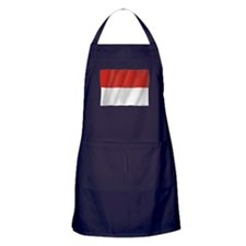 Pure Flag of Indonesia Apron (dark)