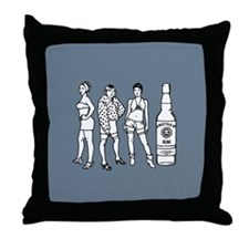 Ho, Ho, Ho, and... Throw Pillow