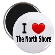 "I Love The North Shore 2.25"" Magnet (10 pack)"