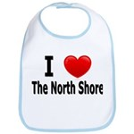 I Love The North Shore Bib