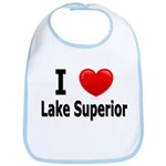 I Love Lake Superior Bib
