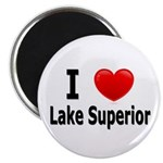 I Love Lake Superior Magnet