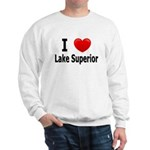 I Love Lake Superior Sweatshirt