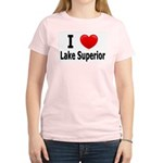 I Love Lake Superior Women's Light T-Shirt