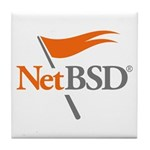 NetBSD Devotionalia + TNF Support Tile Coaster