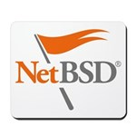 NetBSD Devotionalia + TNF Support Mousepad