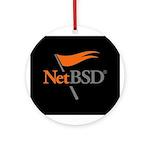 NetBSD Devotionalia + TNF Support Ornament (Round)