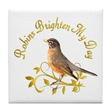 Robin Tile Coaster