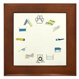 Agility Circle Framed Tile