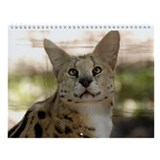 Serval Wall Calendar