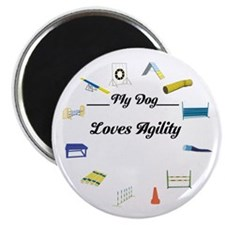 Agility Circle Your Text Magnet
