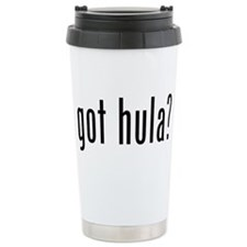 got hula? Ceramic Travel Mug