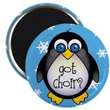 Cute Penguin Choir Magnet