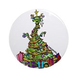 Durkin's Dragons Ornament (Round)
