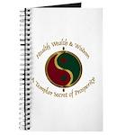 Templar Prosperity Symbol on a Journal