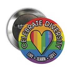 Celebrate Diversity 2.25 inch Button (10 pack)