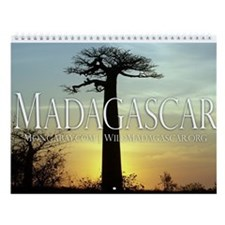 Highlights of Madagascar 12-month Wall Calendar II