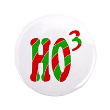 "Ho Ho Ho 3.5"" Button"